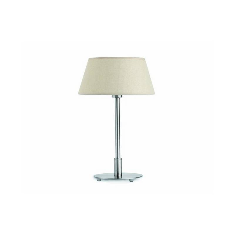 Lámpara sobremesa de Hierro MITIC Interior Niquel Mate E14