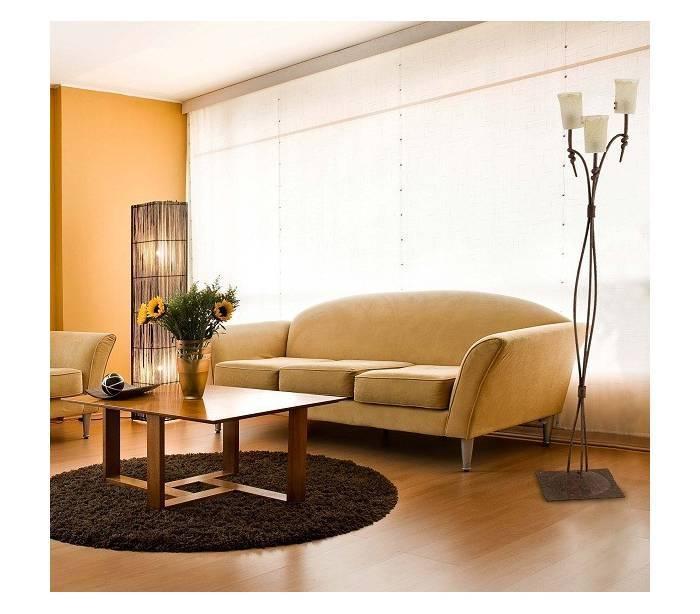 Luces para salon lampara centro salon techo luz indirecta - Luces para salon ...
