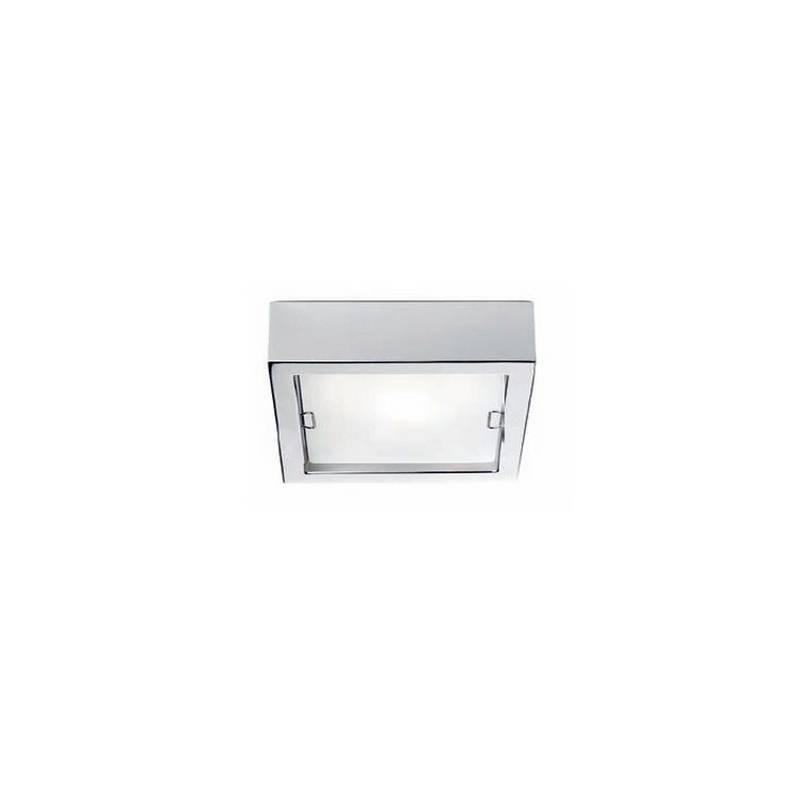 Aplique de aluminio ESFERIC Blanco halógeno de pared