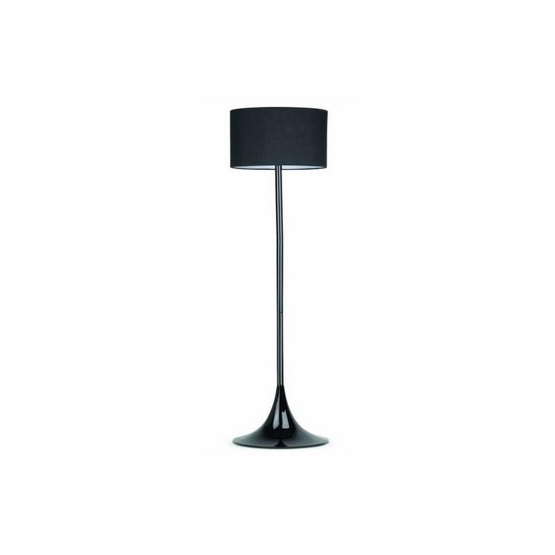 Lámpara pie de salón de Metal BLACK para Interior Negro E27
