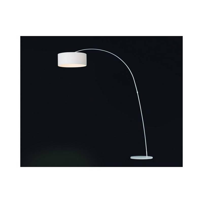 Lámpara pie de salón de Metal PAPUA para Interior Blanco E27