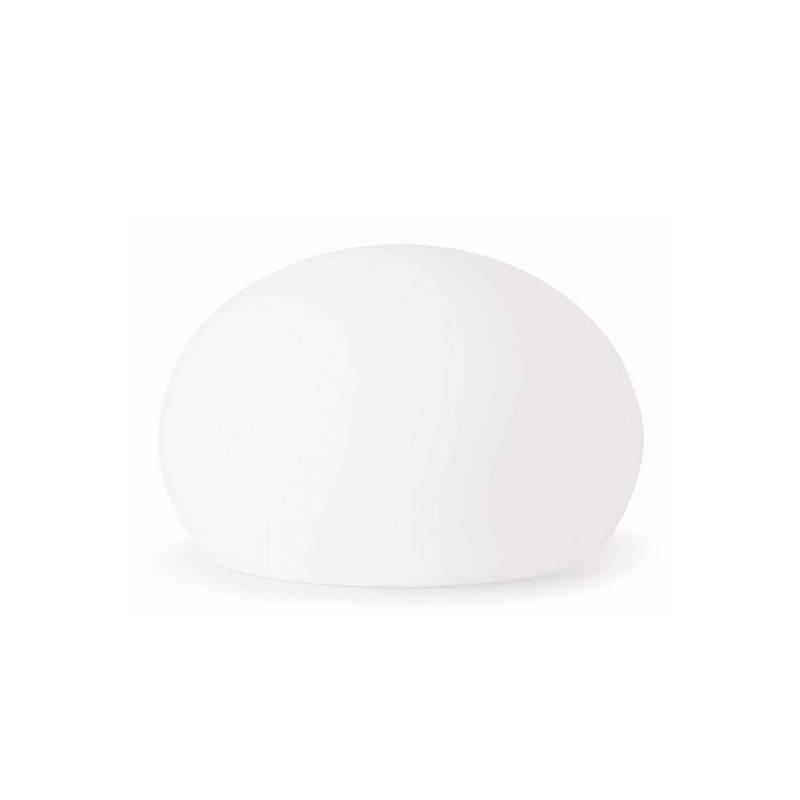 Lámpara decorativa para Exterior de Polietileno BALDA-P Pequeño de color Blanco E27