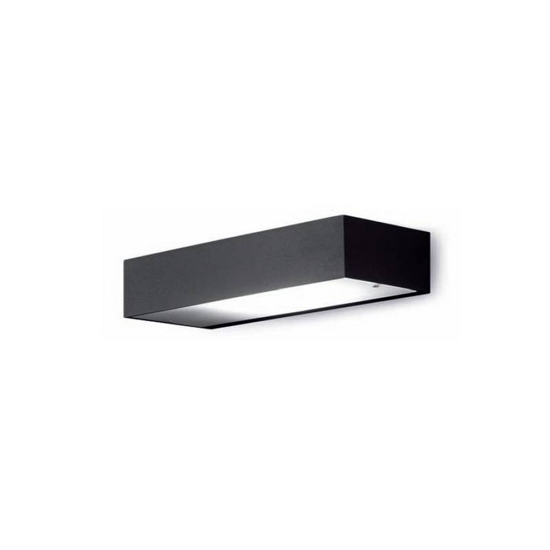 Aplique de aluminio APOLO-IP65 Plata ambiente bajo consumo de pared