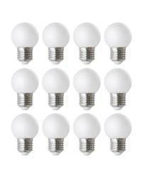 Kit 12 lámparas LED FILAMENT E27 3W 330lm 3000K DOPO 858A-K12-632J-01