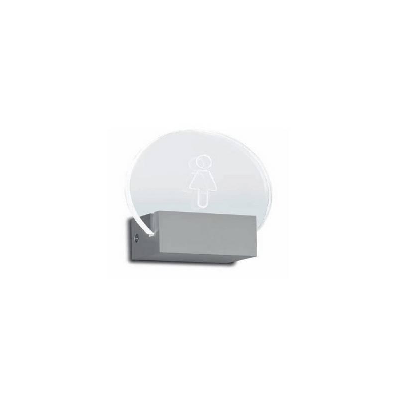 Aplique de aluminio SIGNE ambiente de pared personalizado LED's