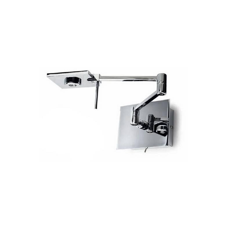 Aplique de aluminio-Acero DEL Cromo ambiente LED's de pared articulado