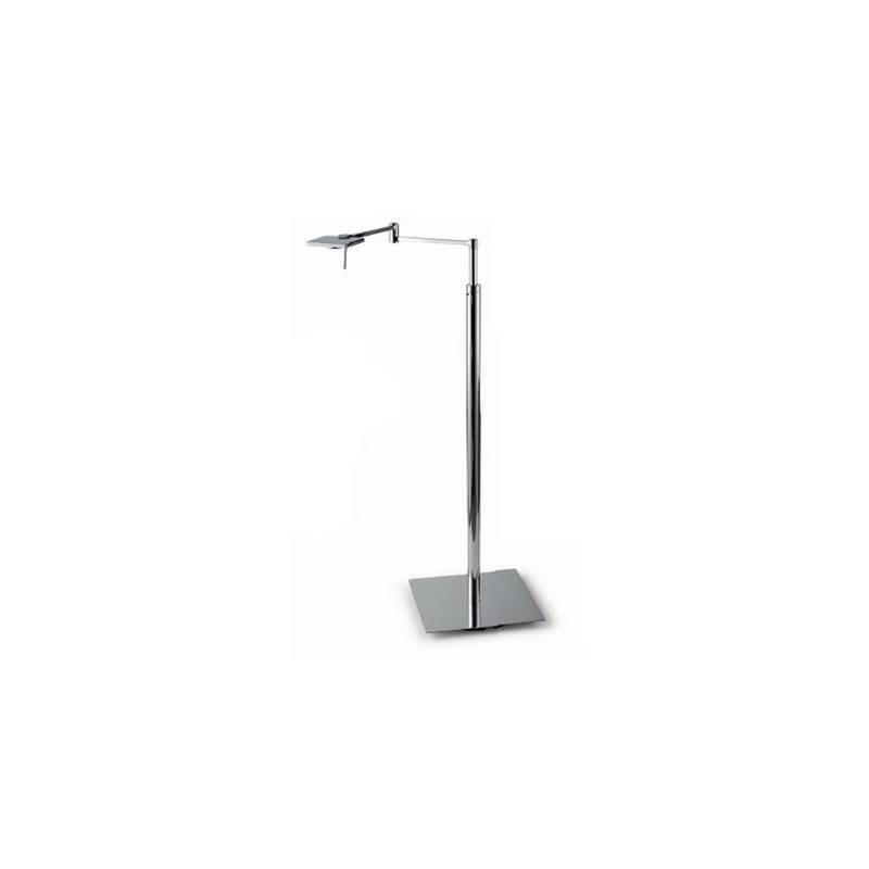Lámpara de Pie de Salón Color Cromo de Aluminio/Acero  - 1 LED 5W 3000K