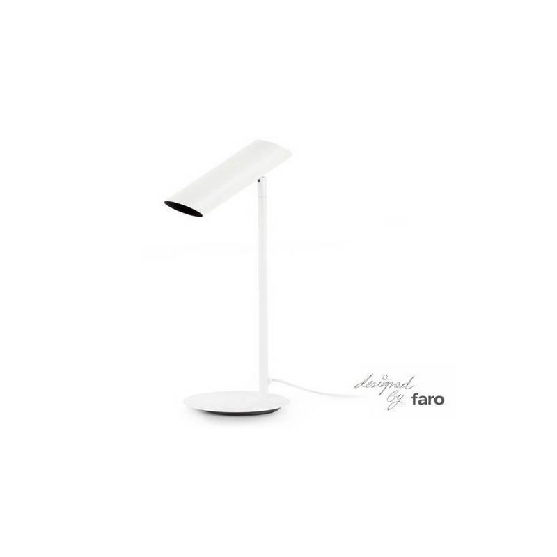 Lámpara sobremesa de Acero LINK para Interior Negro 1L GU10