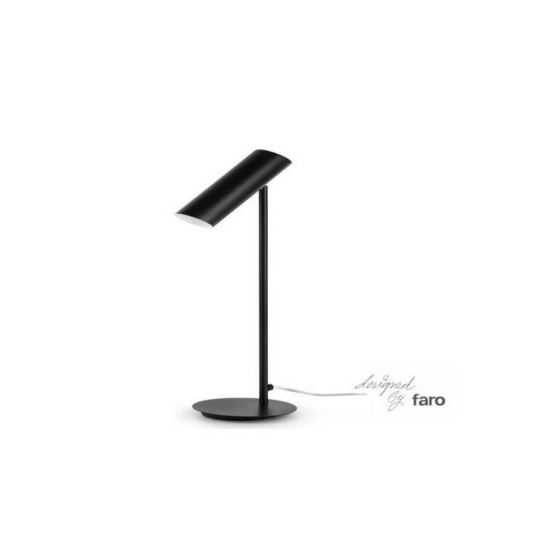 Lámpara sobremesa de Acero LINK para Interior Blanco 1L GU10