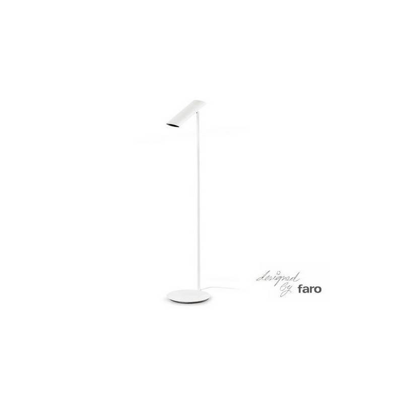 Lámpara pie de salón de Acero LINK para Interior Negro 1L GU10