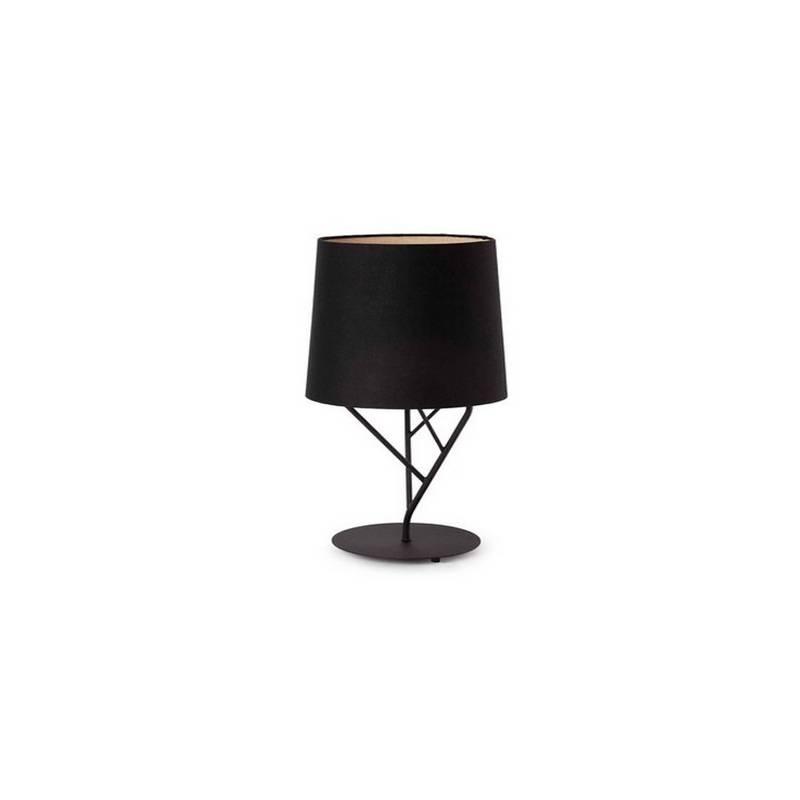 Lámpara sobremesa de Metal TREE para Interior Negro 1L E27
