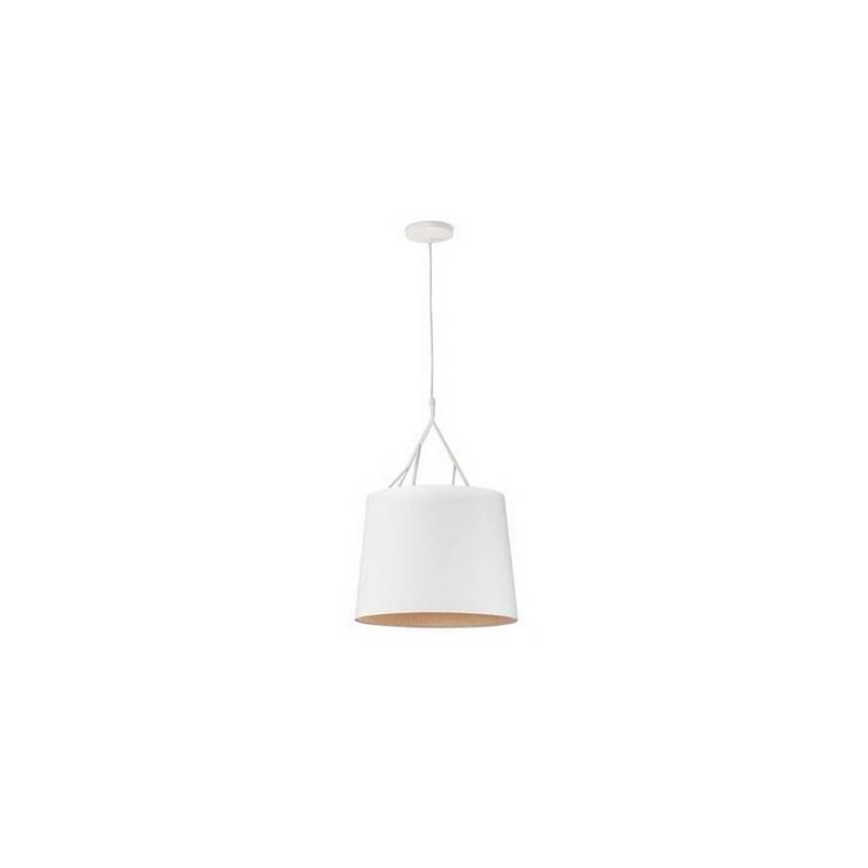 Lámpara colgante de techo de Metal TREE para Interior Blanco 1L E27