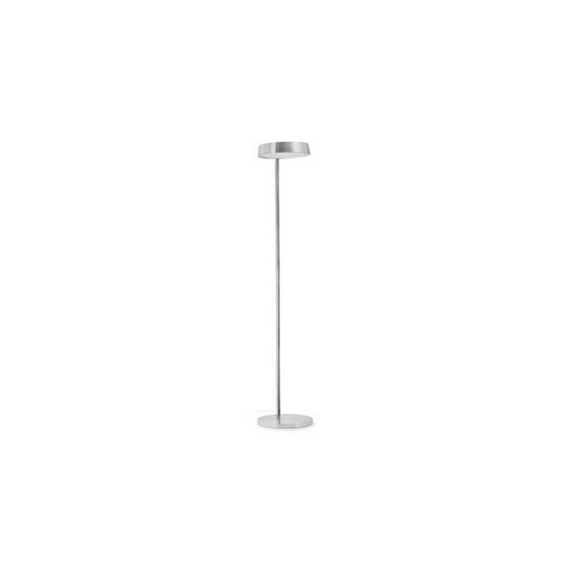 Lámpara pie de salón de Metal NEXO para interior Niquel Satinado E27