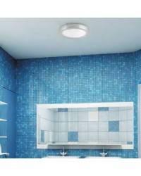 Plafón de Aluminio LOGOS-1 para Baño color Blanco E27