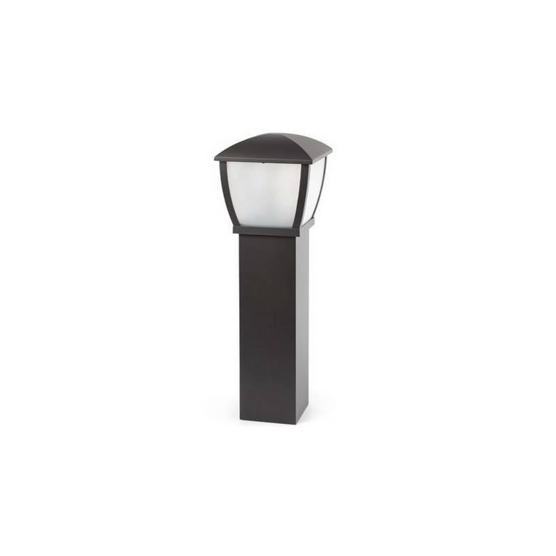 Baliza de aluminio  WILMA Exterior color Gris oscuro E27