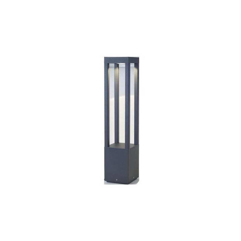 Baliza de Aluminio Inyectado AGRA para Exterior color Gris oscuro LED