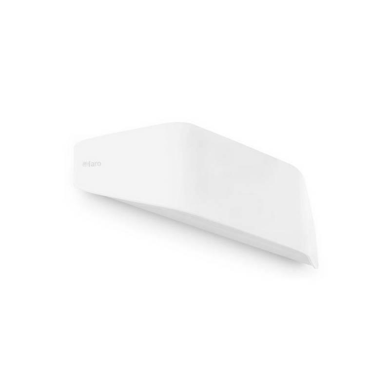 Aplique de pared de policarbonato FUTURE  Exterior Blanco Mate E27