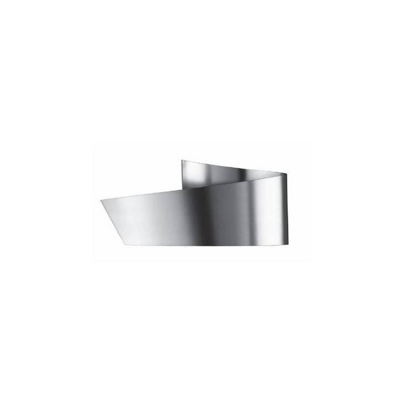 Aplique de aluminio ADO Niquel Mate ambiente bajo consumo de pared