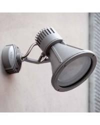 Proyector de Aluminio Iny. PROJECT para Exterior color Gris oscuro E27