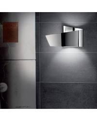 Aplique de aluminio ADO Niquel Mate ambiente halógeno de pared