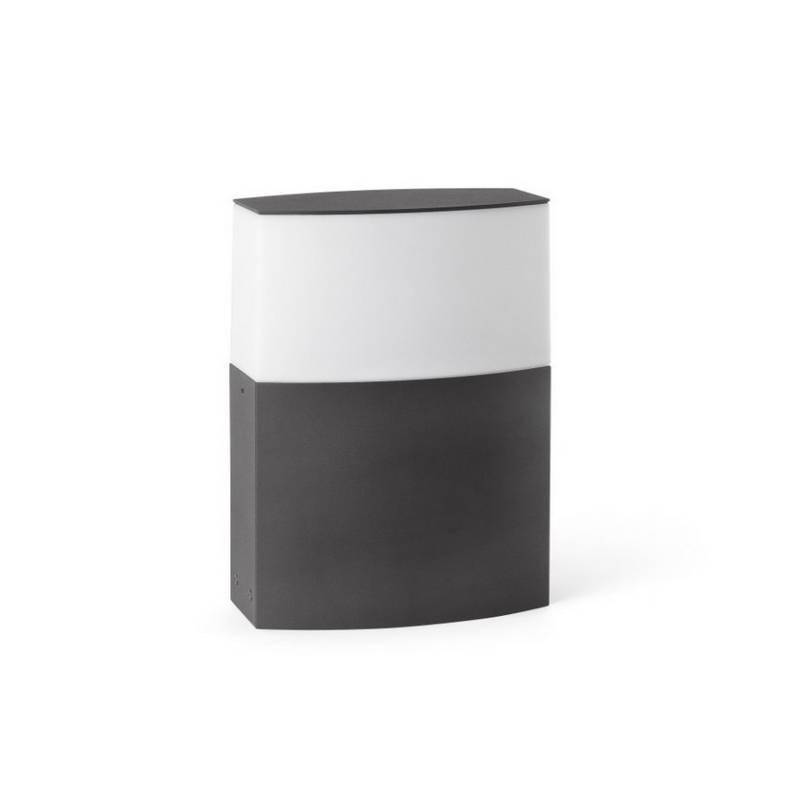 Baliza de Aluminio Inyectado DATNA para Exterior Gris Oscuro
