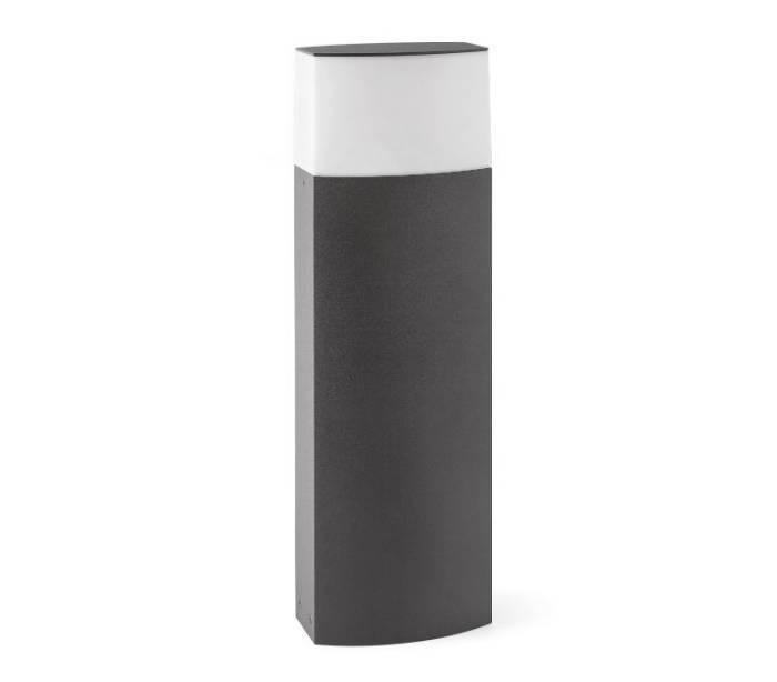 Balizas de exterior datna gris oscuro de 60 cm de altura for Exterior gris oscuro