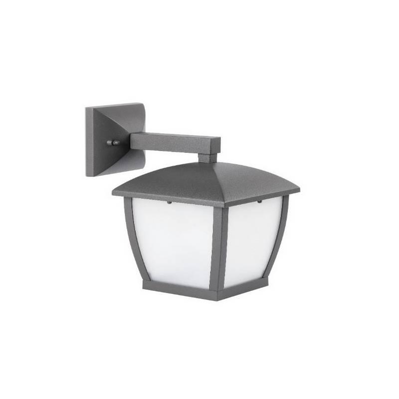 Aplique de Aluminio MINI-WILMA Exterior Gris Oscuro