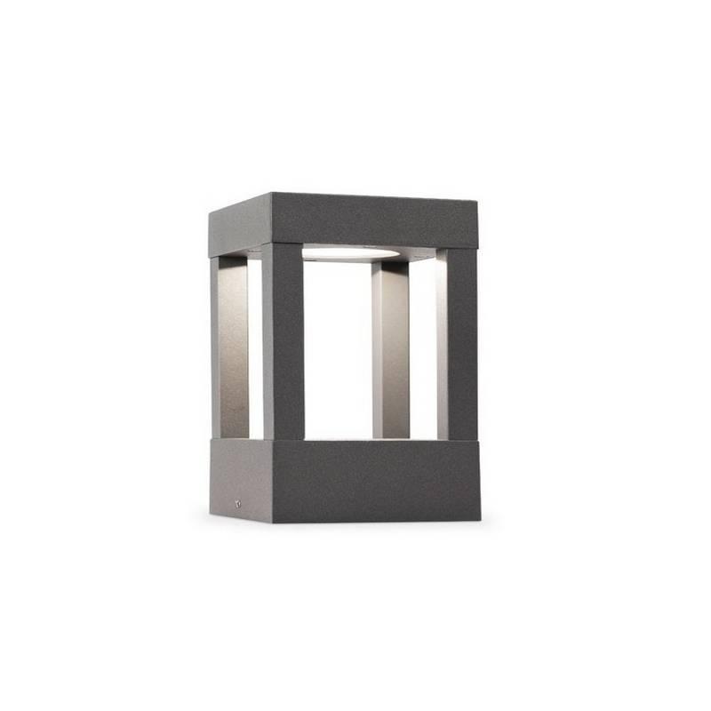 Baliza de Aluminio Inyectado AGRA Exterior Gris Oscuro LED