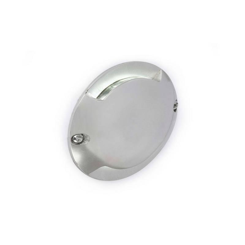 Aplique de Superficie de Aluminio KEENAN Exterior Níquel LED