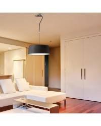 Lámpara Colgante de Metal HOTEL Interior Blanco