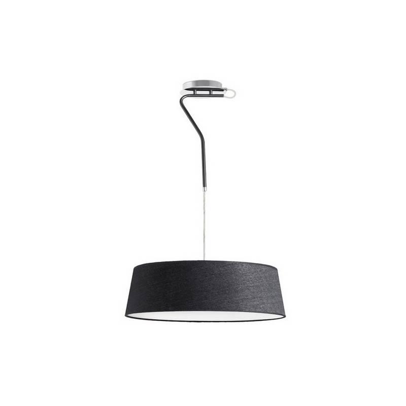 Lámpara Colgante de Metal HOTEL Interior Negro