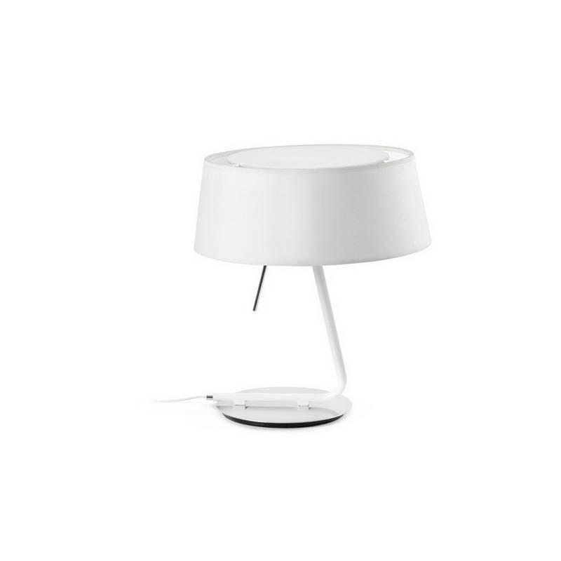 Lámpara de Sobremesa de Metal HOTEL Interior Blanco
