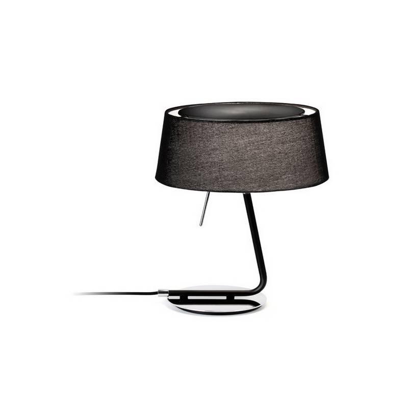 Lámpara de Sobremesa de Metal HOTEL Interior Negro