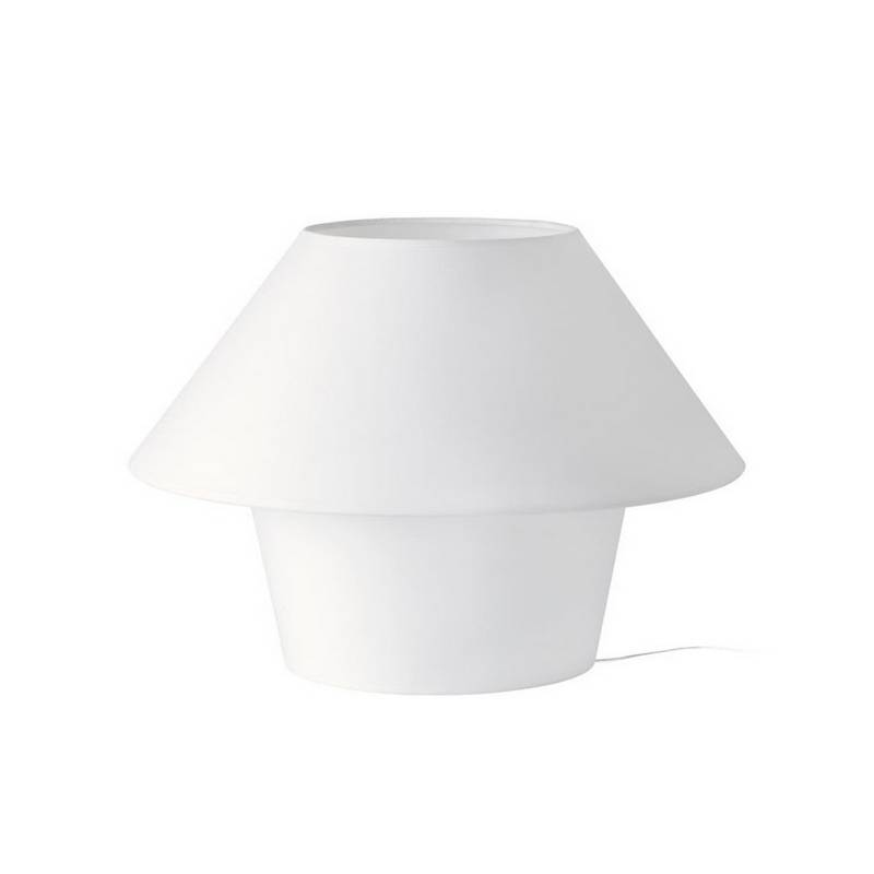 Lámpara de Sobremesa Téxtil VERSUS-G Interior Blanco