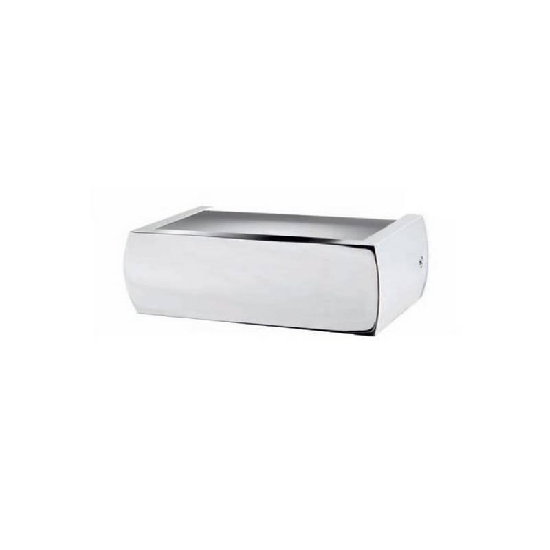 Aplique de fundición aluminio ESQUELLOT Niquel Mate ambiente halógeno de pared