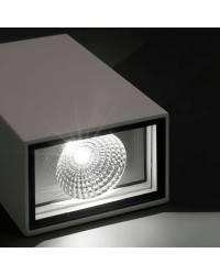 Aplique para exterior FARO LING LED Gris Oscuro