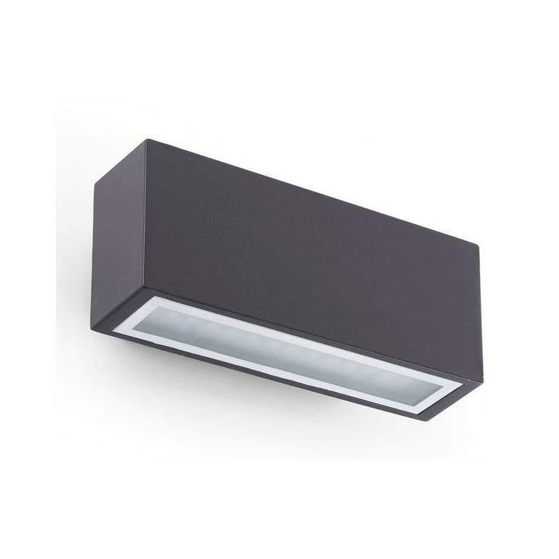 Aplique para exterior FARO BLIND LED Gris Oscuro