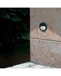 Lámpara Empotrable para exterior FARO MINI-RACING SMD LED Luz Día Gris Oscuro