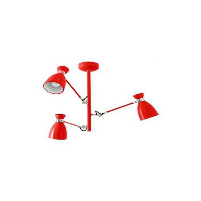 Lámpara Colgante FARO RETRO Rojo