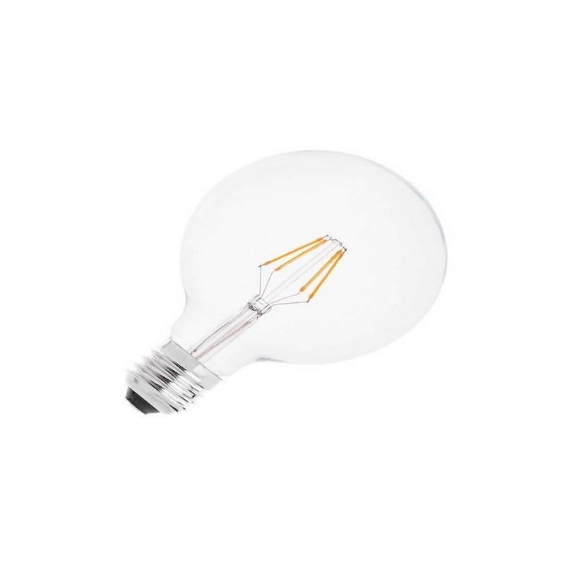 Bombilla LED E27 Globo Filamento 4W  460Lm  2700K