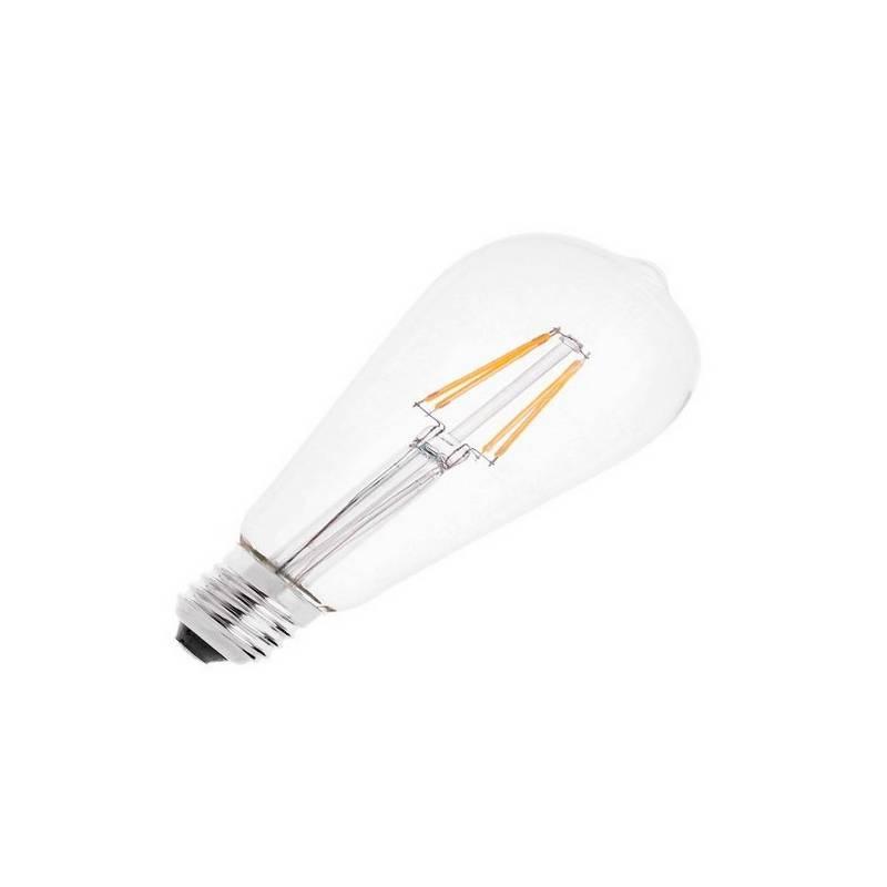 Bombilla LED E27 Pebetero Filamento 4W  460Lm  2700K