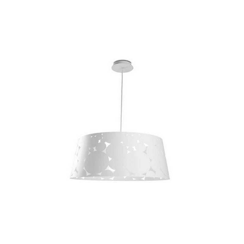 Lámpara Colgante TRAMA-G Blanca