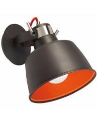 Lámpara Colgante/Aplique VINTAGE Gris Urbano/Naranja