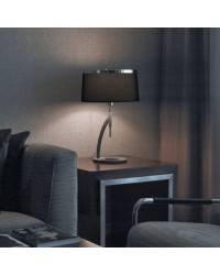 Lámparas de Sobremesa VIRGINIA Negro