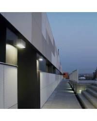 Apliques para Exterior AFRODITA-3-G Gris Urbano 26W Fluorescente