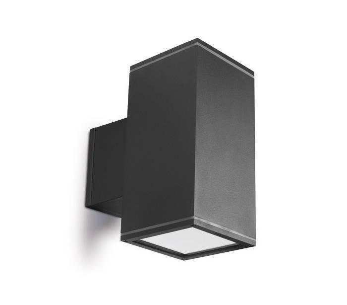 Distribuidores mayoristas de iluminaci n exterior apliques de pared afrodita gris urbano Aplique de pared exterior