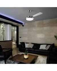 Ventilador de techo con luz BAHIA Blanco Brillante