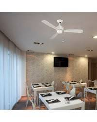 Ventilador de techo CORON Blanco