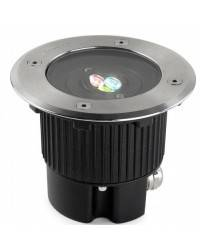 Luces Empotrables LED de Suelo GEA Acero Inoxidable AISI 316 3W RGB